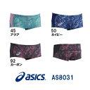 ●●【AS8031】asics(アシックス) メンズ競泳練習水着 REPEATEX2 EVOCHARGE ボックス[男性用/練習用/ボックス]