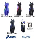 asics アシックス 競泳水着 レディース スイムウェア スイミング スパッツ fina承認 SPURTeX ASL103