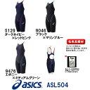 【送料無料】【ASL504】asics(アシックス) レディース競泳水着 TOP iMPACT LINE【縫製タイプ】スパッツ【専用フィッテンググローブ】[FI...