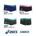 【ASM808】asics(アシックス) メンズ競泳練習水着 REPEATEX2 POWER SUITS ボックス[競泳/練習用/長持ち/男性用]