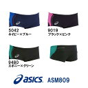 【ASM809】asics(アシックス) メンズ競泳練習水着 REPEATEX2 EVOCHARGE ボックス[男性用/練習用/ボックス]