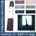 【DA971510】DANSKIN(ダンスキン)ヨガマット4mm[ストレッチ/トレーニング/ヨガ YOGA]