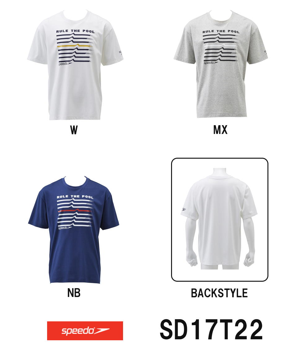 SPEEDO スピード Tシャツ SD17T22-HK