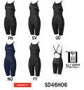 【SD46H06】SPEEDO(スピード) レディース競泳水着 Fastskin XT-W ウイメンズニースキン2[女性用/競泳/ハーフスパッツ/FINA承認]