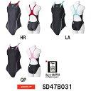 ●●【SD47B031】SPEEDO(スピード) レディース競泳水着 FLEX Cube ウイメンズエイムカットスーツ[女性用/競泳/FINA承認/ワンピース]