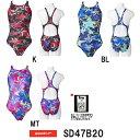 【SD47B20】SPEEDO(スピード) レディース競泳水着 FLEX Σ ウイメンズエイムカットスーツ3[競泳水着/女性用/ワンピース/FINA承認]