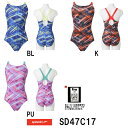 ●●【SD47C17】SPEEDO(スピード) レディース競泳水着 Fastskin XT-W ウイメンズスモールバックエクスカットスーツ[競泳水着/女性用/FINA承認/ワンピースタイプ]