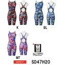 ●●【SD47H20】SPEEDO(スピード) レディース競泳水着 FLEX Σ ウイメンズセミオープンバックニースキン6[競泳水着/女性用/スパッツ/FINA...
