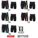 【SD77C05】SPEEDO(スピード) メンズ競泳水着 Fastskin XT Pro Hybrid2 メンズジャマー[男性用/競泳/ハーフスパッツ/FINA承認]
