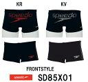 【SD85X01】【ケースなし】SPEEDO(スピード) メンズ競泳練習水着 DREAM TEAM ENDURANCE J トレインボックス[競泳/選手/練習用/トレーニング/男性用]