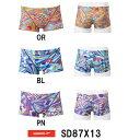 【SD87X13】SPEEDO(スピード) メンズ競泳練習水着 DREAM TEAM UV FLEX メンズトレインボックス[競泳/男性用/練習水着/長持ち]