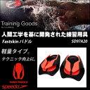 【水泳練習用具】【SD97A20】SPEEDO(スピード) Fastskin パドル[水泳/スイミング/ハンドパドル/四泳法使用可能]