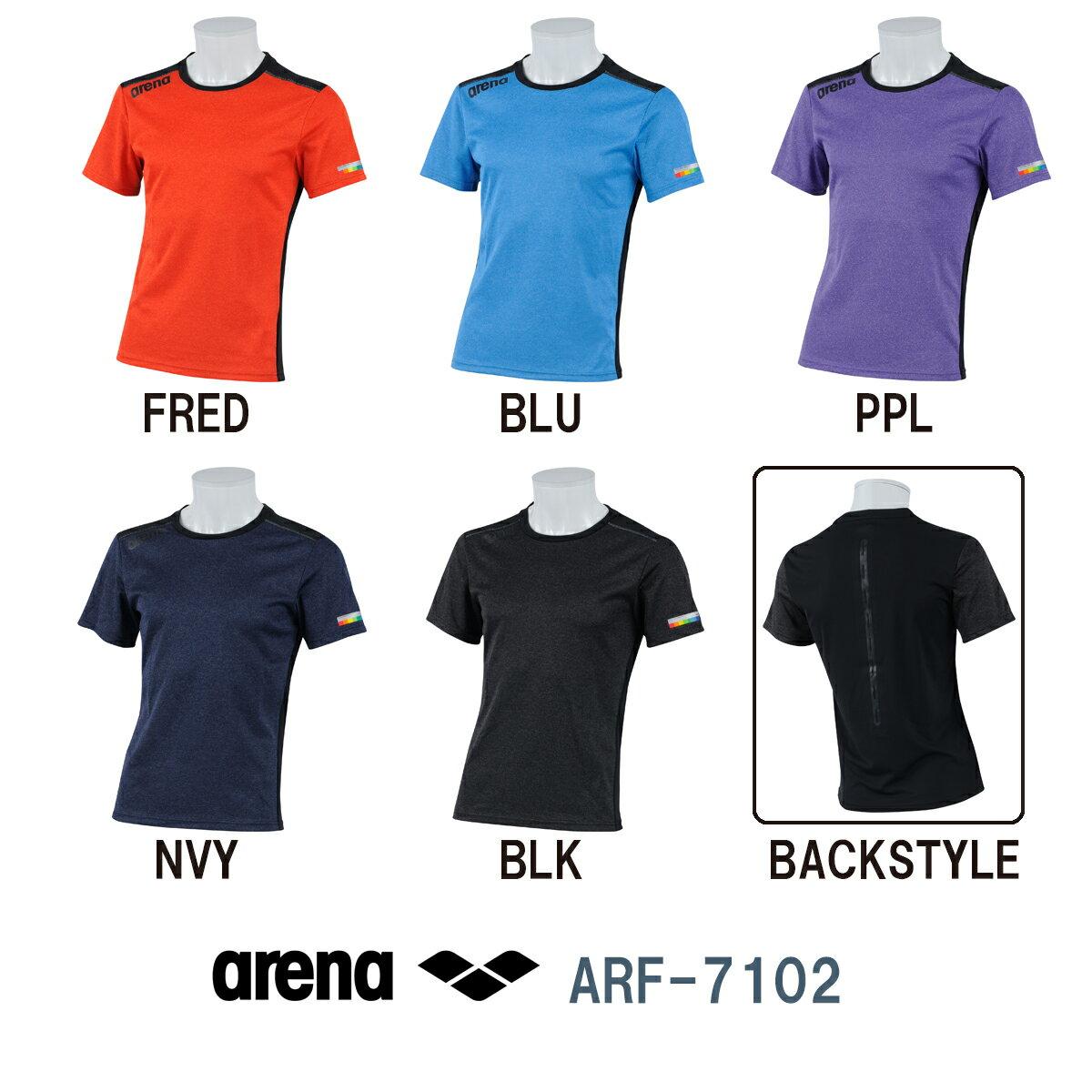 ARENA アリーナ Tシャツ メガテックドライ テクニスタスムース 2017年FWモデル ARF-7102-HK