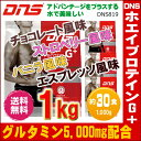 【送料無料】【DNS819】DNS(ディーエヌエス) ホエイプロテイン G+(ジープラス) (1,000g・約30食分)