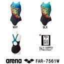 【FAR-7561W】ARENA(アリーナ) レディース競泳水着 UROKO SKIN セーフリーバック(着やストラップ)[競泳水着/女性用/ワ…