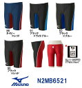 【N2MB6521】MIZUNO(ミズノ) メンズ競泳水着 Stream Aqucela ソニックフィットAC ハーフスパッツ[競泳水着/男性用/ス…