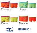 【N2MB7561】MIZUNO(ミズノ) メンズ競泳練習水着 EXER SUITS U-Fit ショートスパッツ[競泳/練習用/長持ち/男性用]