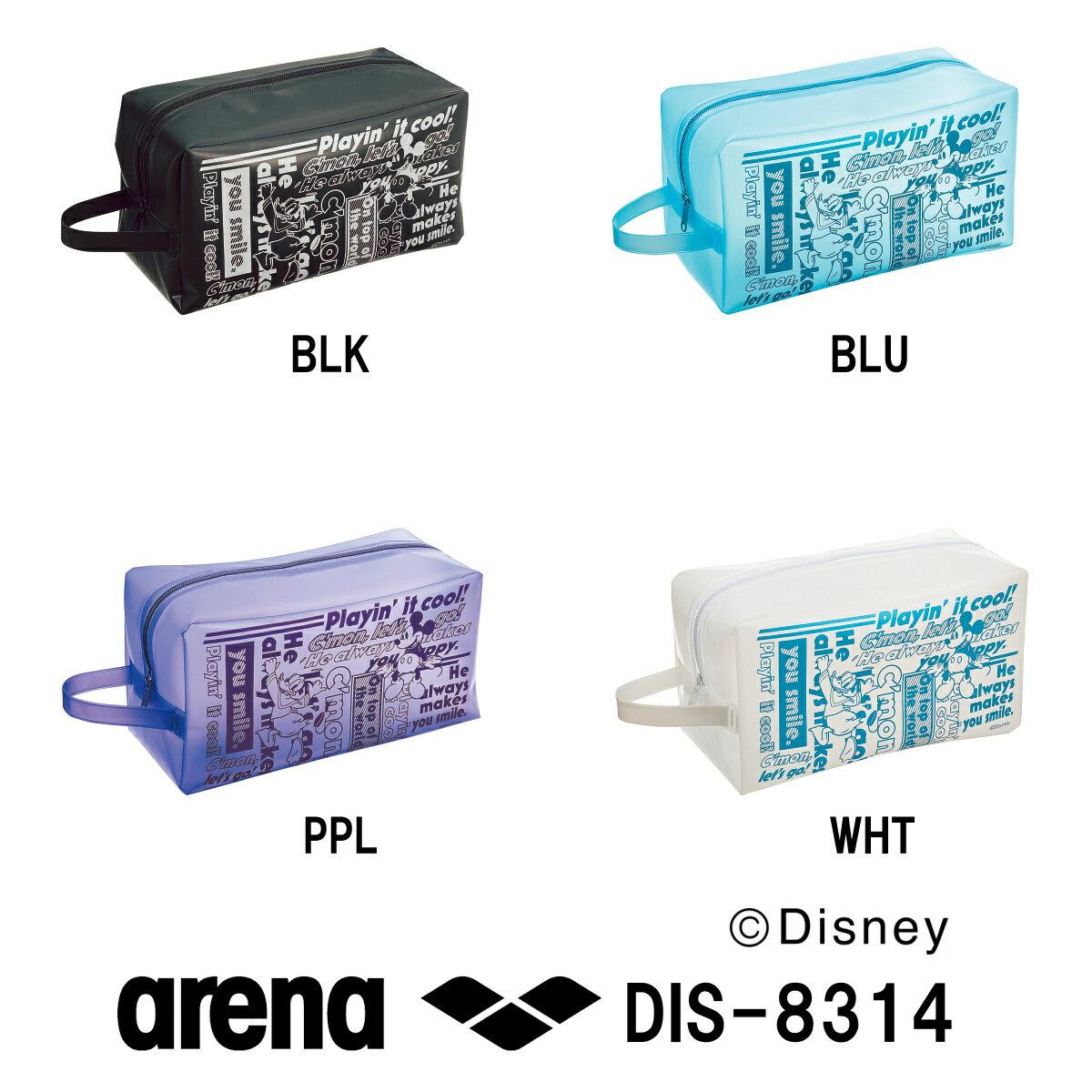 ARENA アリーナ プルーフバッグ ディズニーシリーズ 2018年SSモデル DIS-8314