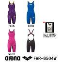 【送料無料】【ポイント10倍】ARENA アリーナ 競泳水着 レディース スイムウェア スイミング ハーフスパッツオープンバック fina承認 POWERSKIN CARBON-AIR(パワースキン