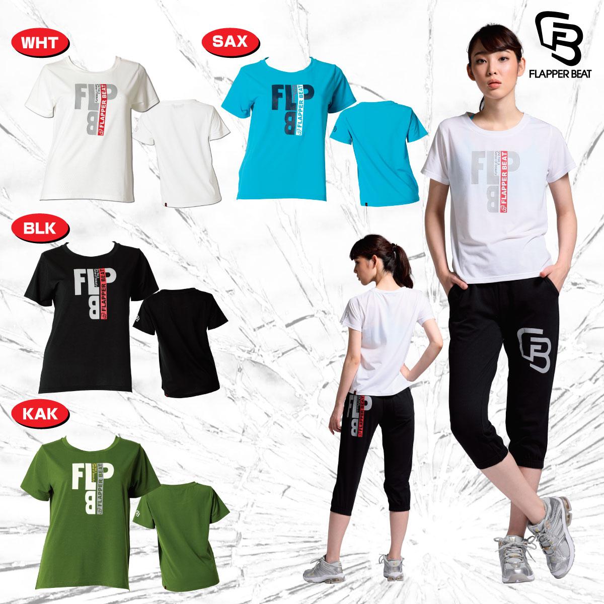 《クーポン利用で更に値引!》FLAPPER BEAT フラッパー ビート Tシャツ レディス FLP-1808R-HK