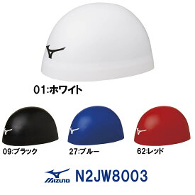 【3点以上のお買い物で5%OFFクーポン配布中】ミズノ MIZUNO 水泳 スイムキャップ シリコンキャップ FINA承認モデル [GX・SONIC HEAD ジーエックス・ソニックヘッド] 小さめサイズ N2JW8003 ドーム型