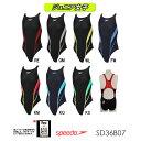 SPEEDO スピード 競泳水着 ジュニア女子 スイムウェア スイミング FLEX Zero ジュニアエイムカットスーツ SD36B07