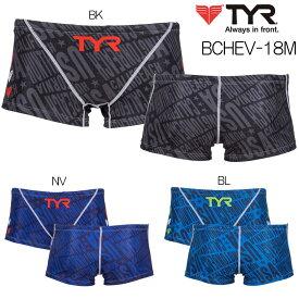 トレーニング水着 ティア TYR 練習用水着 メンズ ショートボクサー BCHEV-18M