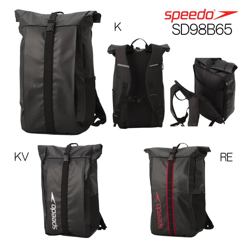 スピード SPEEDO ロールトップSpeedoパック 水泳 リュック バックパック 2018年秋冬モデル SD98B65