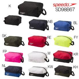 【クーポン利用で更にお値引き】スピード SPEEDO 水泳 ウォータープルーフ(M) バッグ ポーチ SD98B67 スイミングバッグ