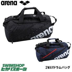 【クーポン利用で更にお値引き】アリーナ ARENA 水泳 2WAYドラムバッグ AEANJA10 スイミングバッグ