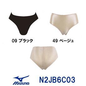 【3点以上のお買い物で10%OFFクーポン配布中】MIZUNO ミズノ レディース スイムサポーター(ベーシック) N2JB6C03 女性用 水着 スイム インナーショーツ アンダーショーツ