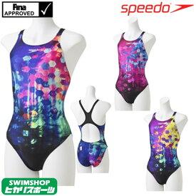 スピード SPEEDO 競泳水着 レディース FINA承認 エイムカットスーツ FLEXΣ2 2019年春夏モデル SCW01915F