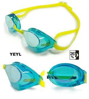 スイミングゴーグルレーシングゴーグル水泳アリーナARENAAQUAFORCESWIFTアクアフォーススイフトFINA承認競泳ミラーゴーグルノンクッション世界水泳2019瀬戸大也選手着用モデルAGL-130M