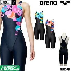 【3点以上のお買い物で3%OFFクーポン配布中】アリーナ ARENA 競泳水着 レディース FINA承認 マスターズSP NUX-FD クローズドバック 2019秋冬モデル FAR-9575WY