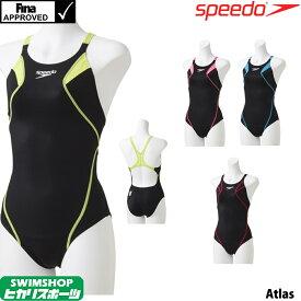 【クーポン利用で更にお値引き】スピード SPEEDO 競泳水着 レディース FINA承認 アトラススーツ 360°FLEX SCW01906F