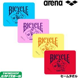 アリーナ ARENA 水泳 アリーナ君 BICYCLE セームタオル(M) 2019年秋冬モデル FAR-9925