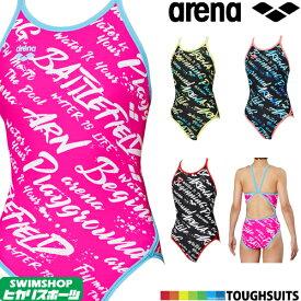 【3点以上のお買い物で5%OFFクーポン配布中】アリーナ ARENA 競泳水着 レディース 練習用水着 スーパーフライバック タフスーツ タフスキンD 競泳練習水着 2019年秋冬モデル FSA-9607W
