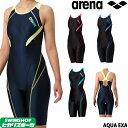 アリーナ ARENA フィットネス水着 レディース サークルバックスパッツ ひっかけフィットパッド 着やストラップ ダブル…