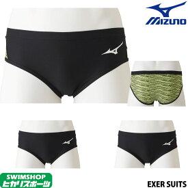 ミズノ MIZUNO 競泳水着 メンズ 練習用 スーパーショート EXER SUITS U-Fit 競泳練習水着 2019年秋冬モデル N2MB9576