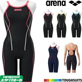 アリーナ ARENA 競泳水着 レディース 練習用 タフフライバックスパッツ タフスーツ タフスキン 競泳練習水着 SAR-9100W