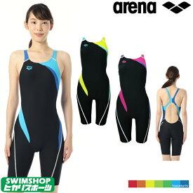 【送料無料】アリーナ ARENA 競泳水着 レディース 練習用水着 ハーフスパッツ タフスーツ タフスキン ORI-0329W