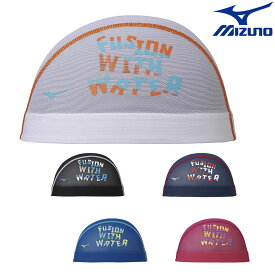 ミズノ MIZUNO 水泳 メッシュキャップ スイムキャップ 水泳小物 2021年秋冬モデル N2JW1506