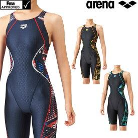 【クーポン利用で更にお値引き】アリーナ ARENA 競泳水着 レディース fina承認 セイフリーバックスパッツ(着やストラップ) Diamond Flex-ST 2021年秋冬モデル ARN-1075W