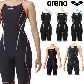 【クーポンで更に12%OFF対象】アリーナ ARENA 競泳水着 レディース 練習用水着 タフフライバックスパッツ タフスーツ タフスキン 競泳練習水着 SAR-9100W