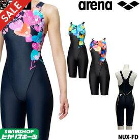 《クーポンで更にお値引き》アリーナ ARENA 競泳水着 レディース FINA承認 マスターズSP NUX-FD クローズドバック 2019秋冬モデル FAR-9575WY