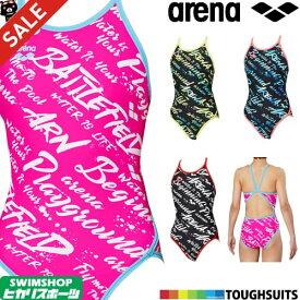 《クーポンで更にお値引き》アリーナ ARENA 競泳水着 レディース 練習用水着 スーパーフライバック タフスーツ タフスキンD 競泳練習水着 2019年秋冬モデル FSA-9607W