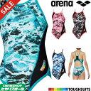 《クーポンで更にお値引き》アリーナ ARENA 競泳水着 レディース 練習用水着 メッシュフライバック タフスーツ タフス…
