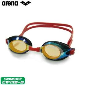 【スイムゴーグル/小学生】ARENA アリーナ クッション付き ジュニア スイミングゴーグル ミラータイプ (トレンティ) 水泳 AGL-710JM-OBRD
