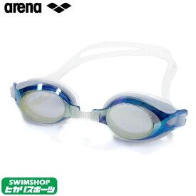 【スイムゴーグル/小学生】ARENA アリーナ クッション付き ジュニア スイミングゴーグル ミラータイプ (トレンティ) 水泳 AGL-710JM-YCBU