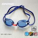 スイムゴーグル SWANS スワンズ ノンクッション クリアゴーグル 競泳 水泳 SR-1NEV-NAV